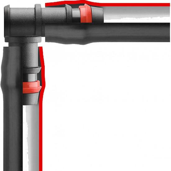 Cot pt tub 16x16, cu inele de siguranta