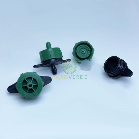 Duza verde autocompensata 2L/H, pt. tub orb, Abrisa Spania