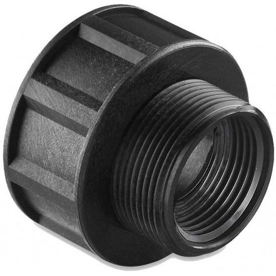 Reductie bazin IBC 1000 l,  M 1 1/2 inch - H 1 inch universal, Abrisa