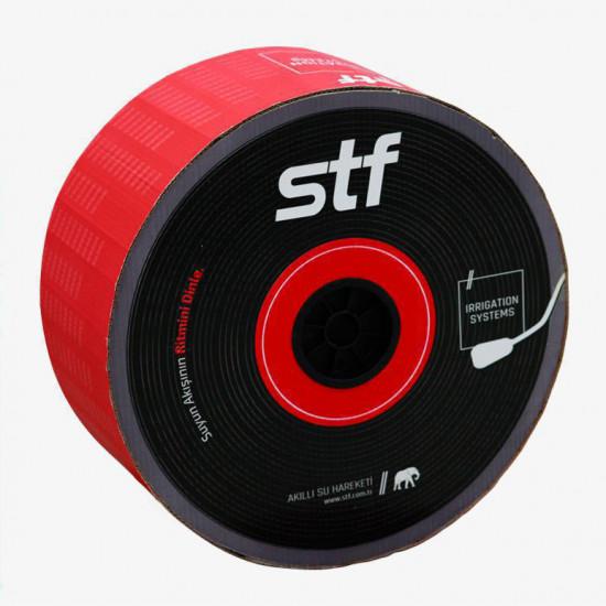 Banda de Picurare STF, 1.6 l/h, 6 mil, D-16 mm, 10 cm, 500m/rola, (cu duze)