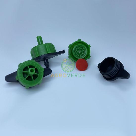 Duza verde autocompensata 4L/h, pt. tub orb, Serdrip Turcia