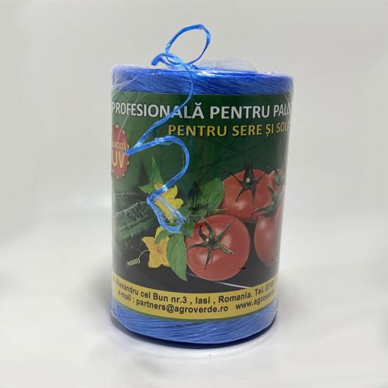Ata de palisat legume, UV, Premium 500 g, 900 m, albastra